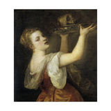 Salome with the Head of John the Baptist Giclee Print