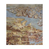 The Siege of Malta. Detail Giclee Print by Matteo Perez d'Aleccio
