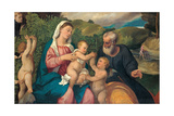 Rest on the Flight into Egypt, 1520s Giclee Print by Bonifacio Veronese