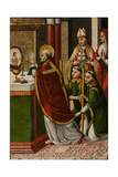 The Mass of Saint Gregory the Great Giclee Print