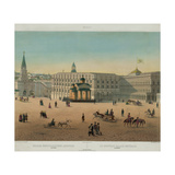 The Grand Kremlin Palace (From a Panoramic View of Moscow in 10 Part), Ca 1848 Giclee Print by Philippe Benoist