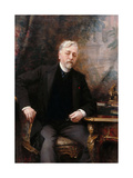 Portrait of Gustave Eiffel (1832-192) Giclee Print by Aimé Nicolas Morot