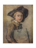 Portrait of the Artist as a Young Man Giclee Print by Francois Hubert Drouais