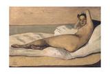 Marietta (The Roman Odalisqu) Giclee Print by Jean-Baptiste Camille Corot