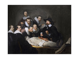 The Anatomy Lesson of Dr. Nicolaes Tulp, 1632 Giclee Print by  Rembrandt van Rijn