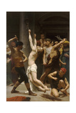 The Flagellation of Christ Impression giclée par William-Adolphe Bouguereau