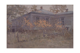 A Country House in Autumn, 1902 Giclee Print by Jakov Jakovlevich Kalinichenko