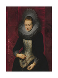 Portrait of a Young Woman with a Rosary Giclee Print by Pieter Paul Rubens