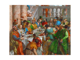 The Wedding Feast at Cana (Detail) Giclee Print by Paolo Veronese