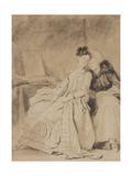 The Intimate Conversation, Ca 1778 Reproduction procédé giclée par Jean-Honoré Fragonard