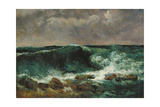 The Wave Giclee Print by Gustave Courbet