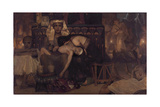 Death of the Pharaoh's Firstborn Son, 1872 Giclee Print by Lawrence Alma-Tadema