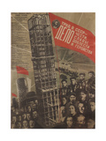 Work in the USSR Is a Matter of Honour, Glory, Sacrifice and Heroism, 1931 Giclee Print by Gustav Klutsis