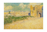 The Mansur Gate in Meknes, Morocco Giclee Print by Théo van Rysselberghe