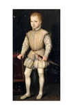 Henry IV of France as Child Giclee Print by François Clouet