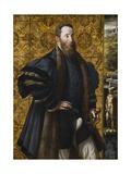 Portrait of Pier Maria Rossi Di San Secondo Gicléetryck av Parmigianino,