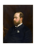Edward VII, King of the United Kingdom Giclee Print by Michele Gordigiani