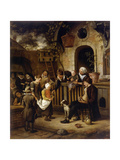 The Little Alms Collector Giclee Print by Jan Havicksz Steen
