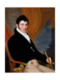 Portrait of Solomon Isaacs, Ca 1813 Giclee Print by John Wesley Jarvis