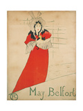 May Belfort Giclee Print by Henri de Toulouse-Lautrec