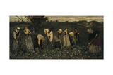 Workers on the Beet Field Giclee Print by Max Liebermann