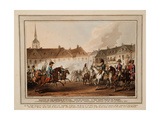 The Meeting of the Emperors of Russia Und Austria, King of Prussia and Crown Prince of Sweden Giclee Print by William Heath