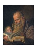 Saint Matthew the Evangelist Giclee Print by Frans I Hals