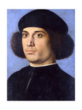 Portrait of a Man, Early16th C Giclee Print by Andrea Previtali