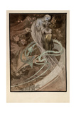 Illustration for the Illustrated Edition Le Pater Giclee Print by Alphonse Mucha