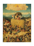 The Haywain (Triptyc) Central Panel, C. 1516 Giclee Print by Hieronymus Bosch