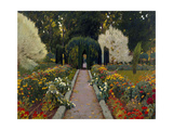 Jardín De Aranjuez. Glorieta Ii Giclee Print by Santiago Rusiñol