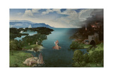 Charon Crossing the Styx Giclee Print by Joachim Patinir
