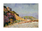 Port-En-Bessin, the Beach Giclee Print by Paul Signac