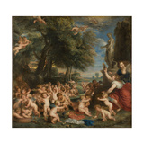 The Feast of Venus (The Festival of Venus Verticordi) Giclee Print by Pieter Paul Rubens