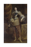 Portrait of Gaston of France, Duke of Orleans Giclee Print by Anthonis van Dyck