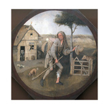 The Peddler (The Parable of the Prodigal So) Giclée-tryk af Hieronymus Bosch