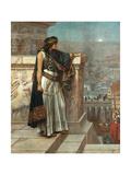Zenobia's Last Look on Palmyra, 1888 Giclee Print by Herbert Gustave Schmalz