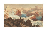 The Second German Northpolar Expedition to the Arctic and Greenland in 1869 Giclee Print