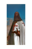 Jacques De Molay, Grand Master of the Knights Templar Giclee Print by Eugène Emmanuel Amaury-Duval