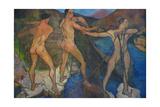 Hauling the Nets, 1914 Giclée-Druck von Suzanne Valadon