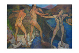 Hauling the Nets, 1914 Giclee Print by Suzanne Valadon