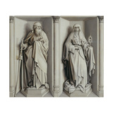 The Marriage of Mary and Joseph. (Revers) Giclee Print by Robert Campin