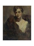 Portrait of the Opera Singer Vera Dorofeyeva Giclee Print by Konstantin Alexeyevich Korovin