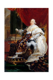 Portrait of Louis XVIII (1755-182) Giclee Print by François Pascal Simon Gérard