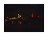Illumination of the Moscow Kremlin, 1896 Giclee Print by Isaak Ilyich Levitan