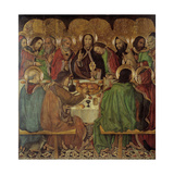 The Last Supper Giclee Print by Jaume Huguet