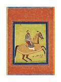 Prince Azam Shah on Horseback Giclee Print