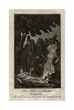 Poet Ewald Von Kleist at the Battle of Kunersdorf, on August 12, 1759, Ca 1759 Giclee Print by Daniel Nikolaus Chodowiecki