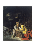 Soldiers Playing Dice Giclee Print by Michiel Sweerts