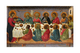 The Last Supper, 1310-1315 Giclée-tryk af Ugolino Di Nerio